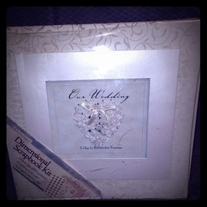 Wedding scrapbook